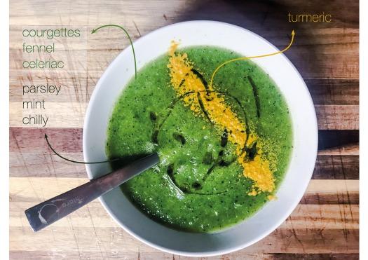 zuppa zucchine